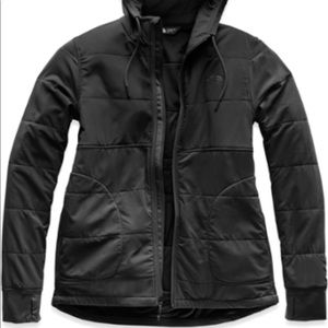 The North Face mountain sweatshirt full zip black